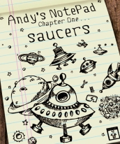 Image: Boxart for Andy's Notepad [Saucers]
